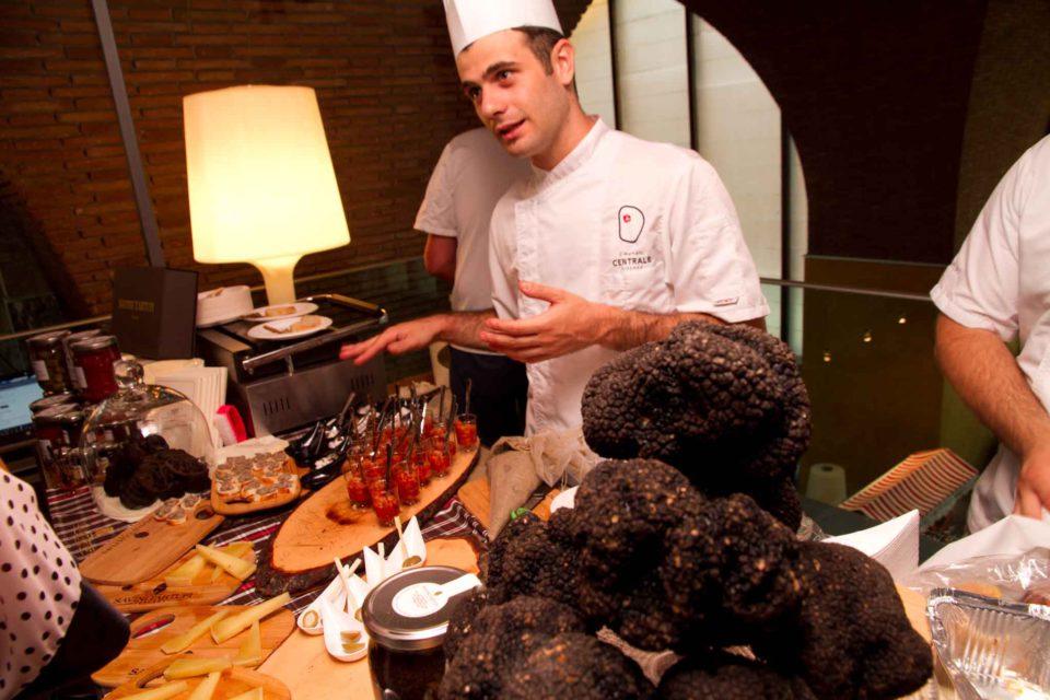 tartufi roma mercato centrale
