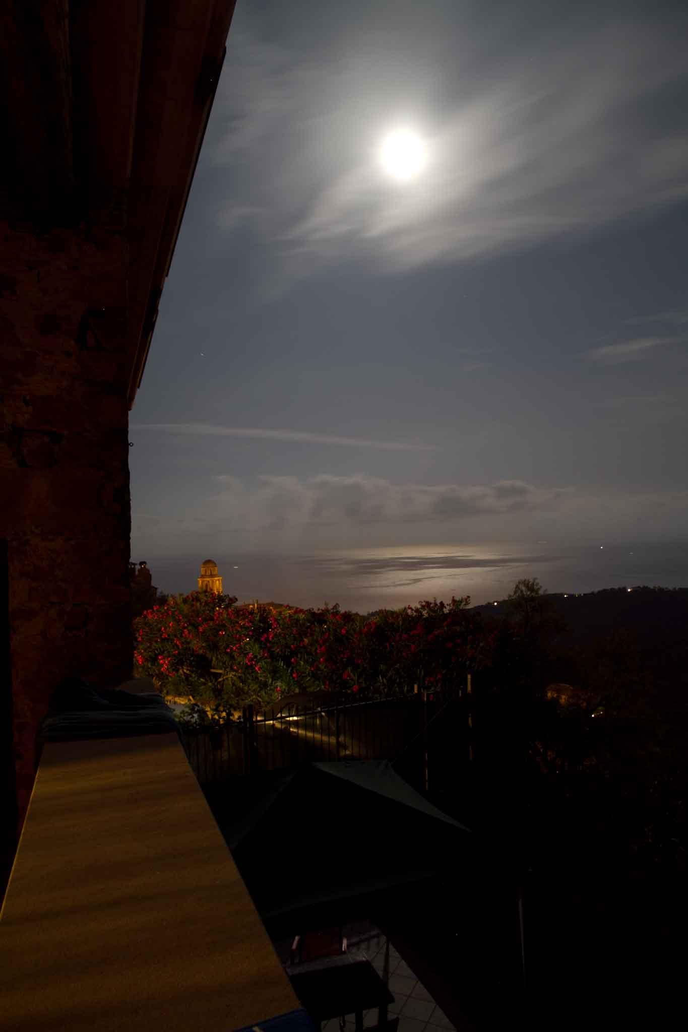 Cannicchio con la luna