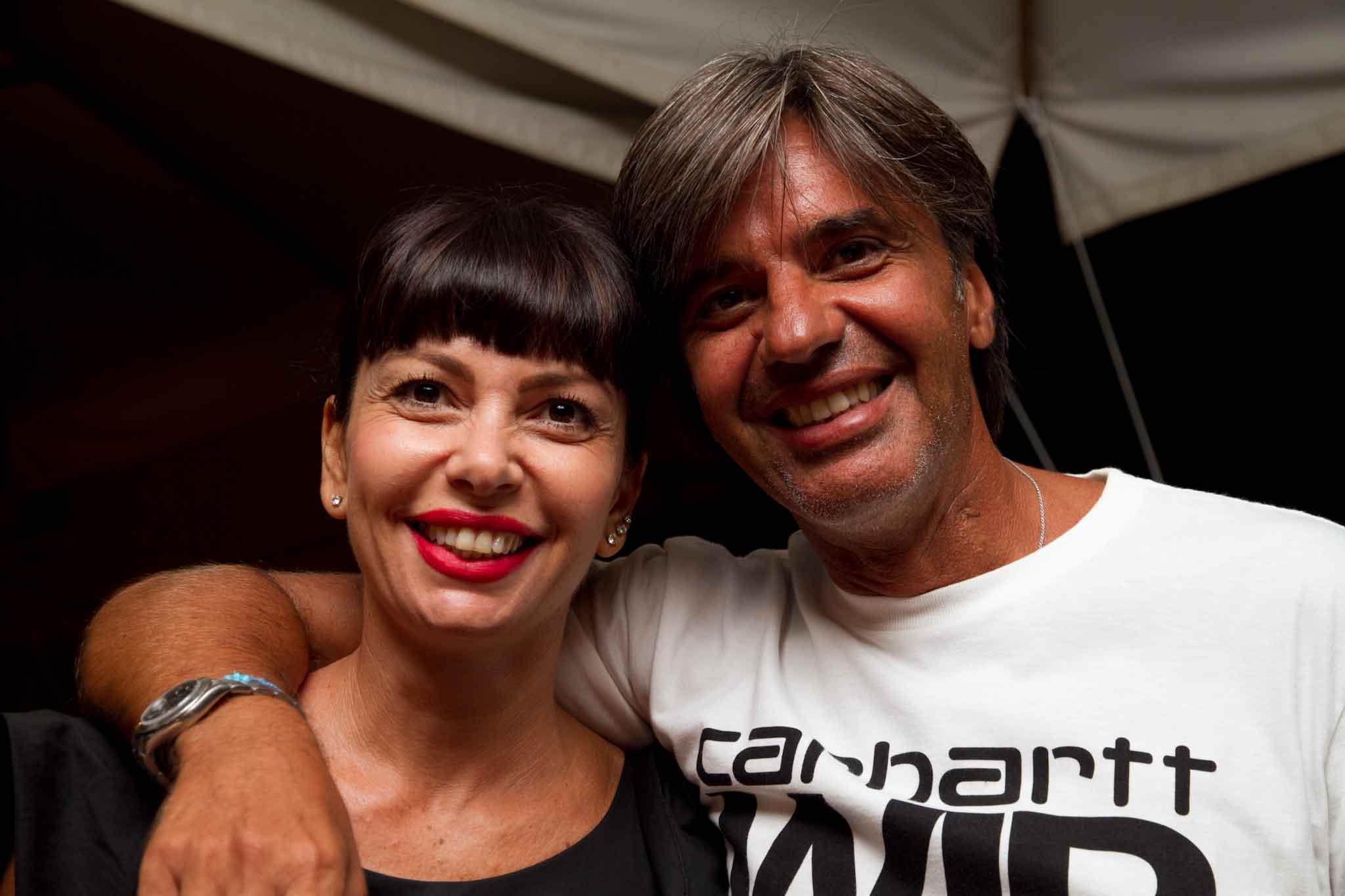 Daniela Sannino Fabio Esposito pizzeria il Borgo Acciaroli