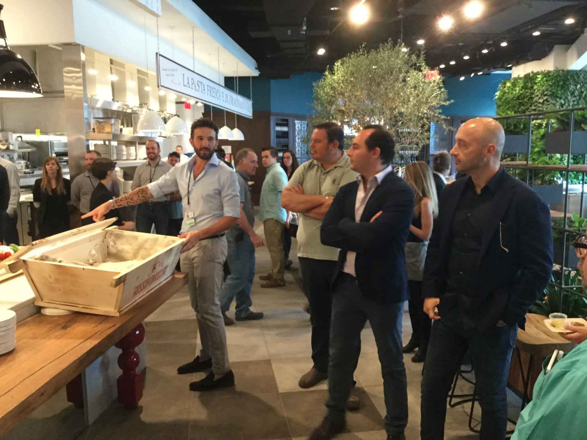 Eataly New York Downtown World Trade Center Tower Bastianich