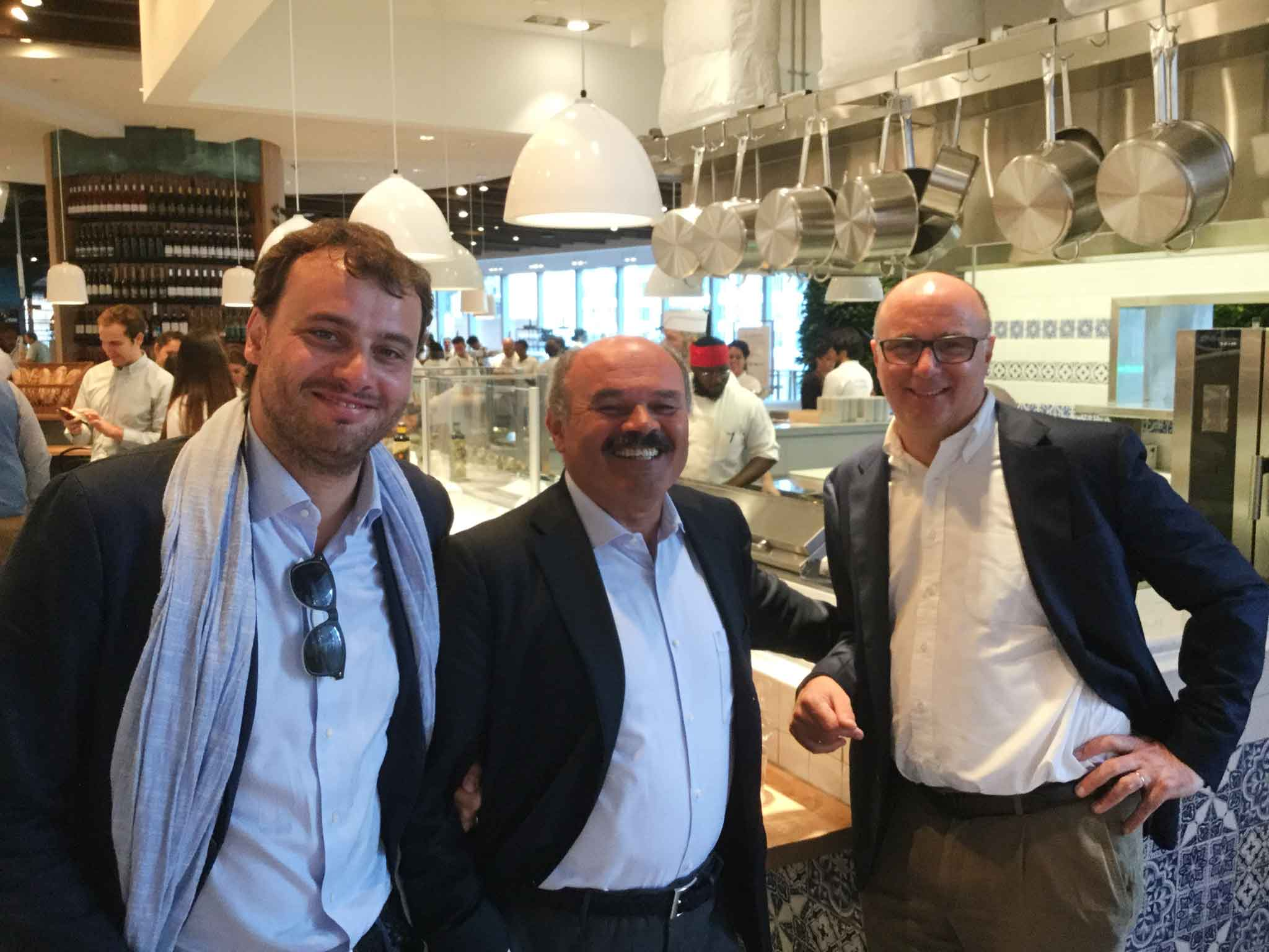 Eataly New York Downtown World Trade Center Tower Guerra Farinetti
