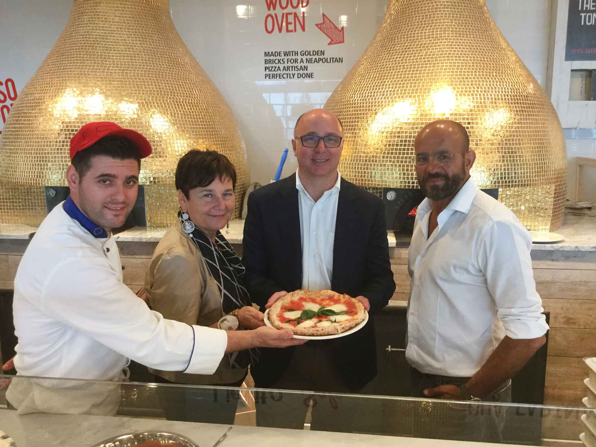 Eataly New York Downtown World Trade Center Tower Manna Rossopomodoro