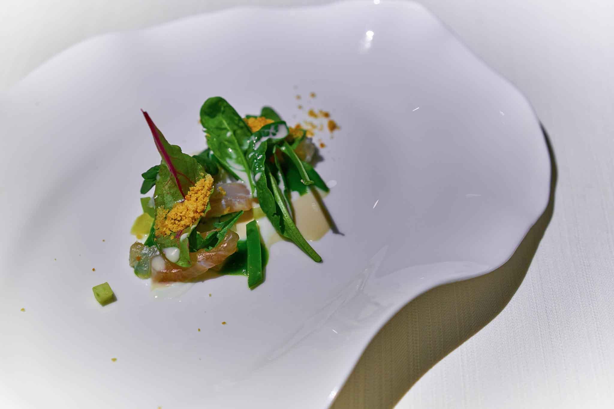 Essenza ristorante ombrina cruda