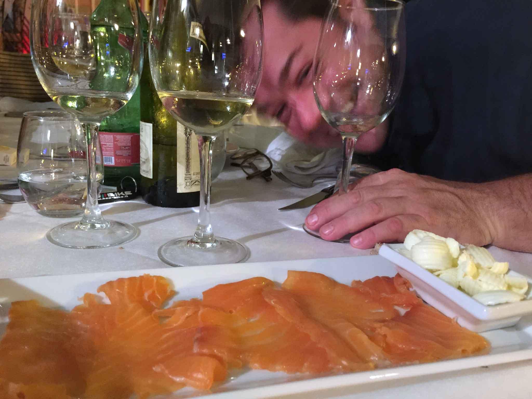 Il Veliero Acciaroli salmone