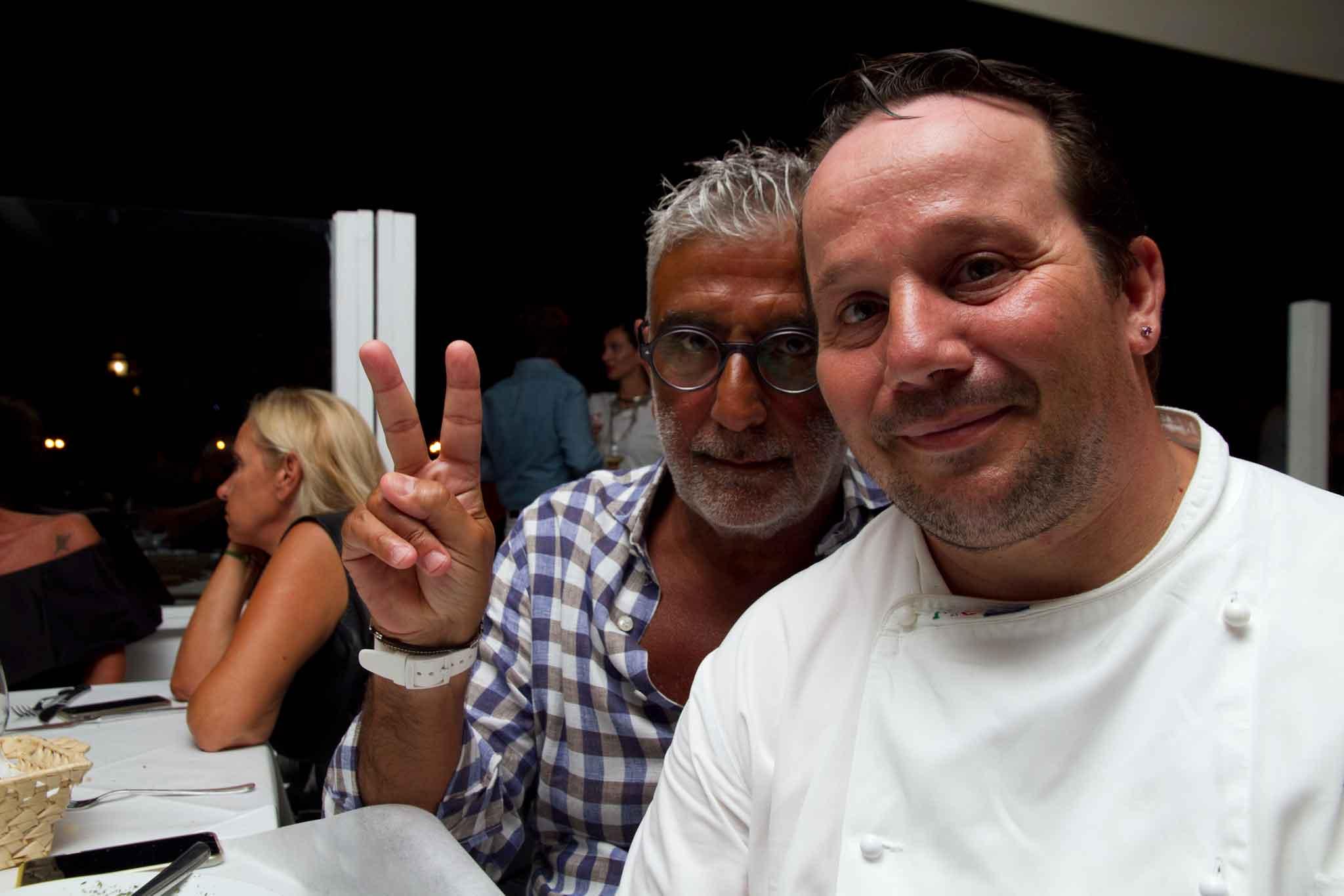 Luigi Iapigio e Vincenzo Onorato