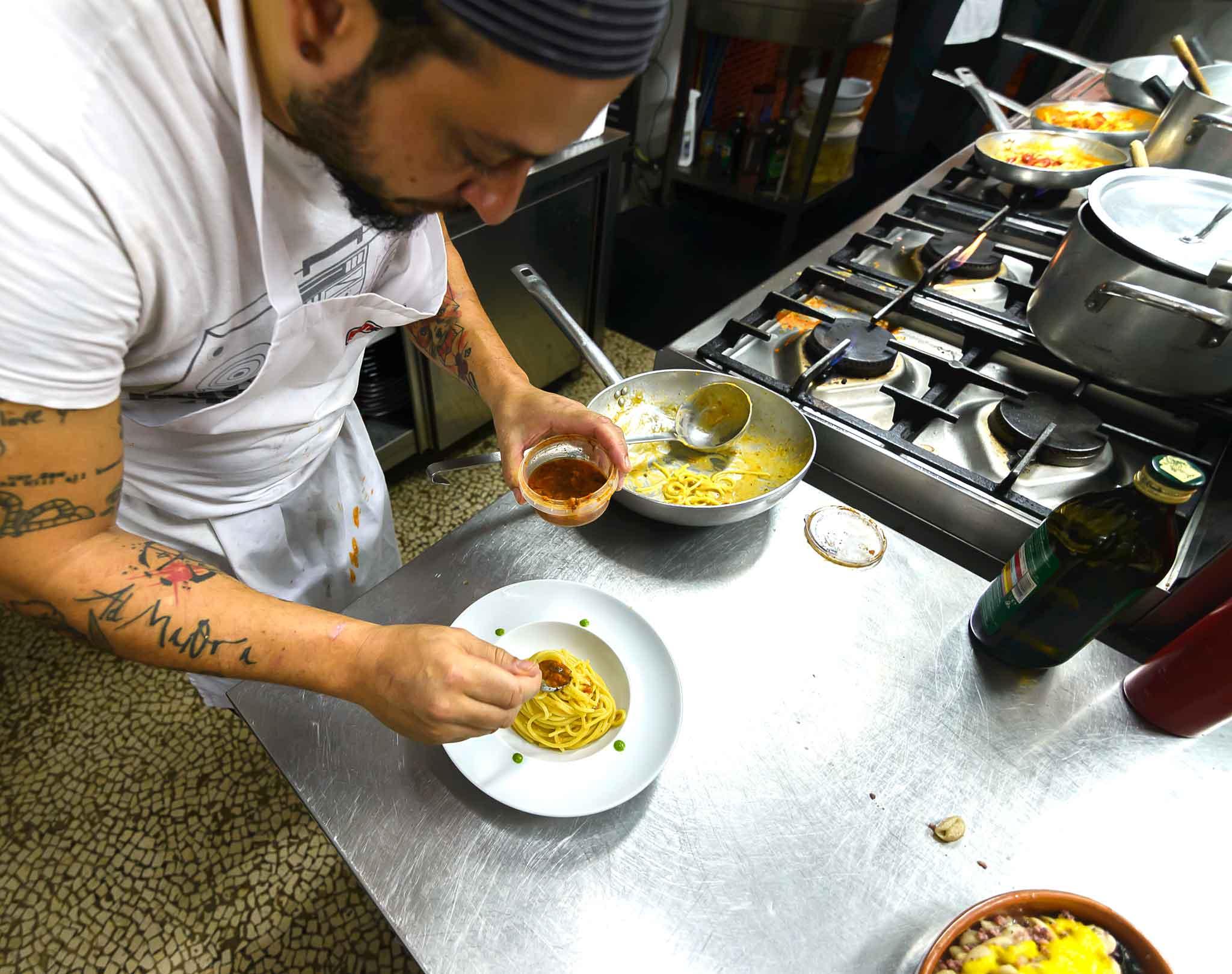 Mangio osteria Tricase cucina