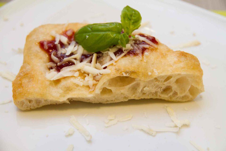 Pasqualino Rossi pizza fritta