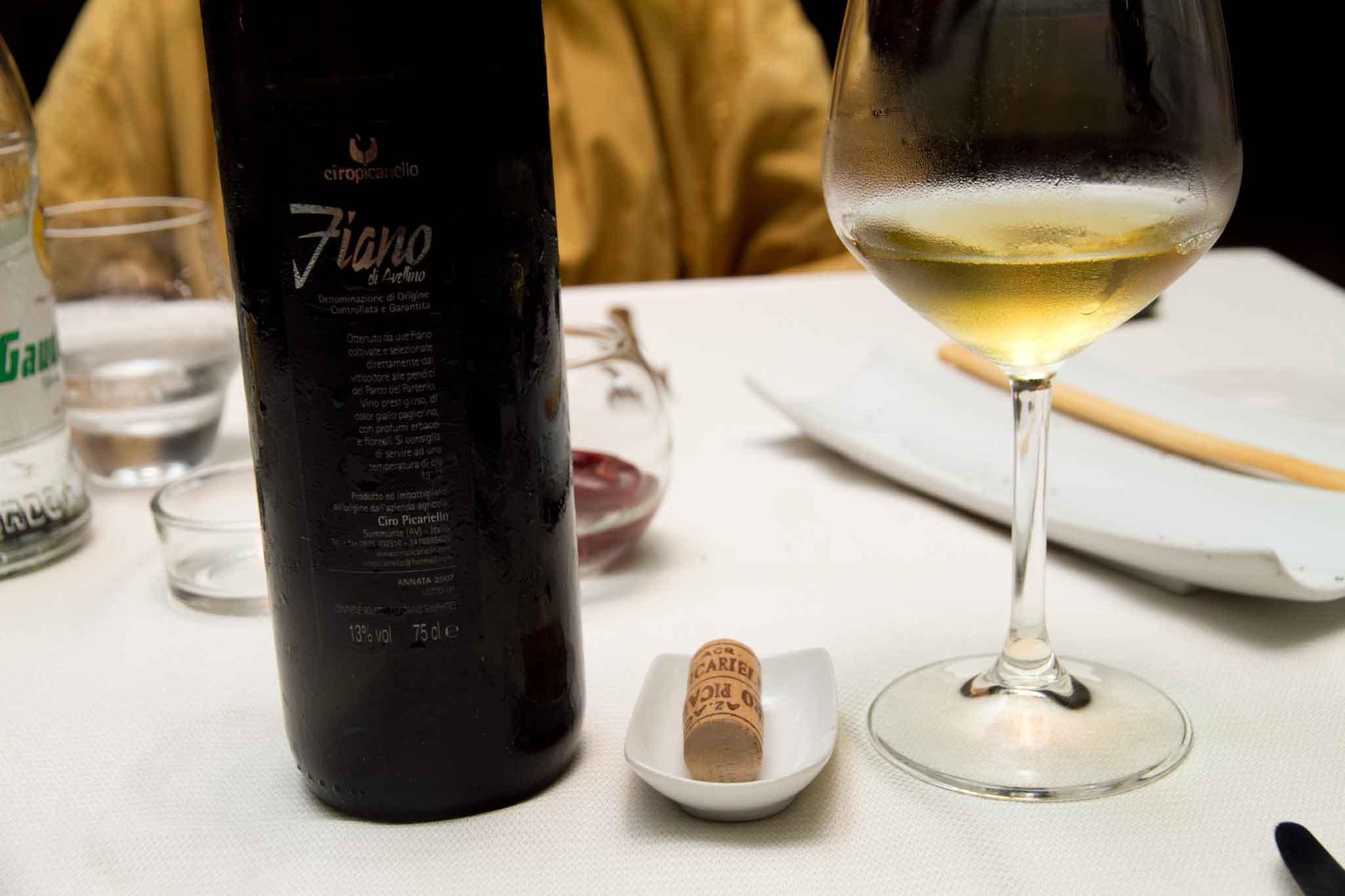 Picariello Fiano 2007