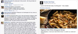 Rigatoni With White Bolognese, la ricetta del New York Times che fa indignare Facebook