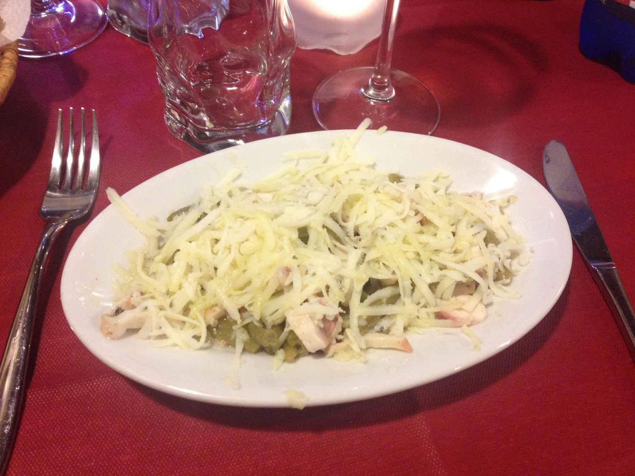 Sardegna castelsardo polpo fagiolini patate