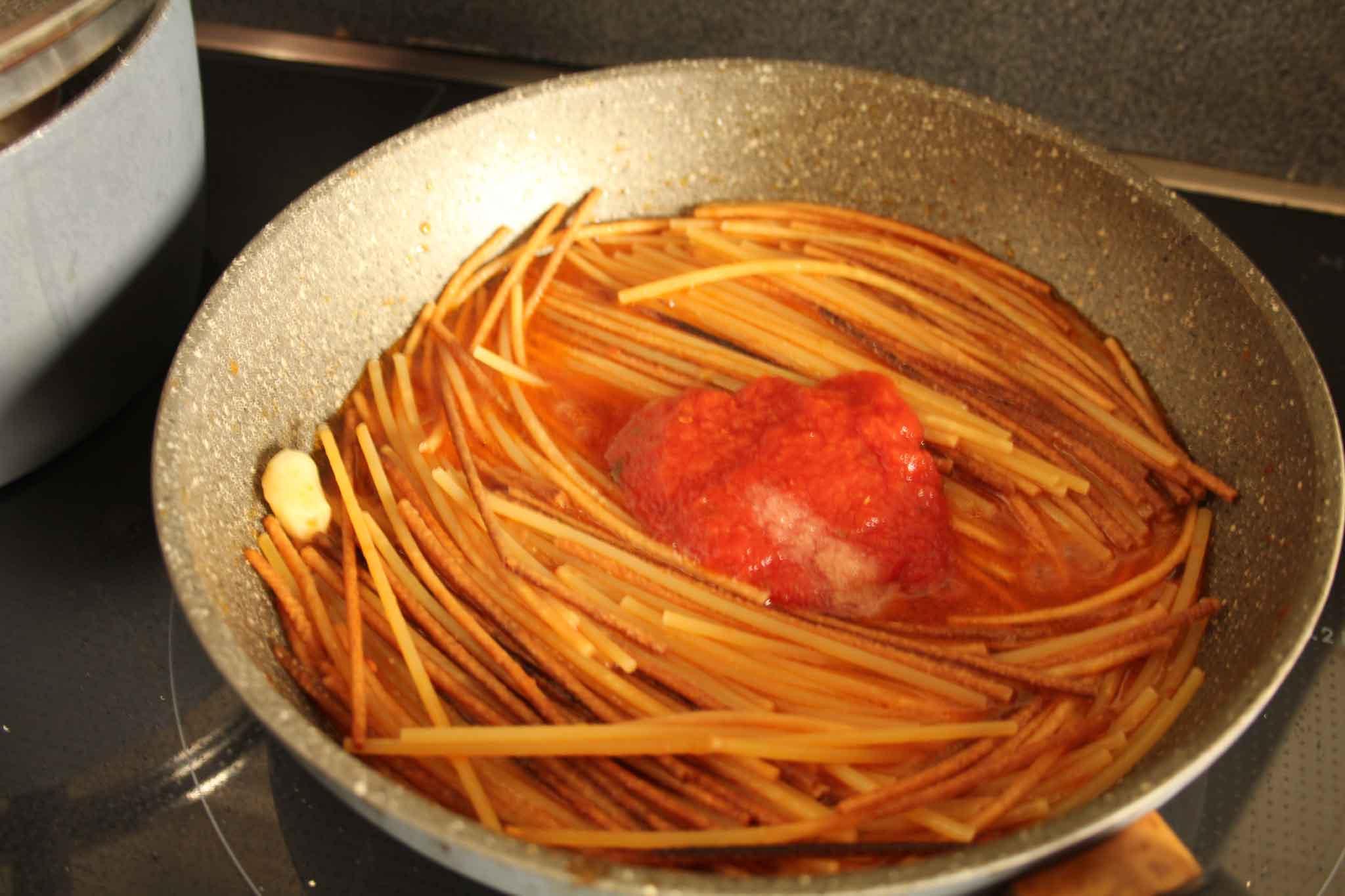 Spaghetti Assassina ricetta 3