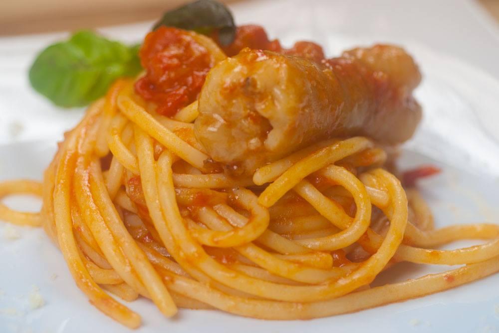 Spaghettoni con stoccafisso