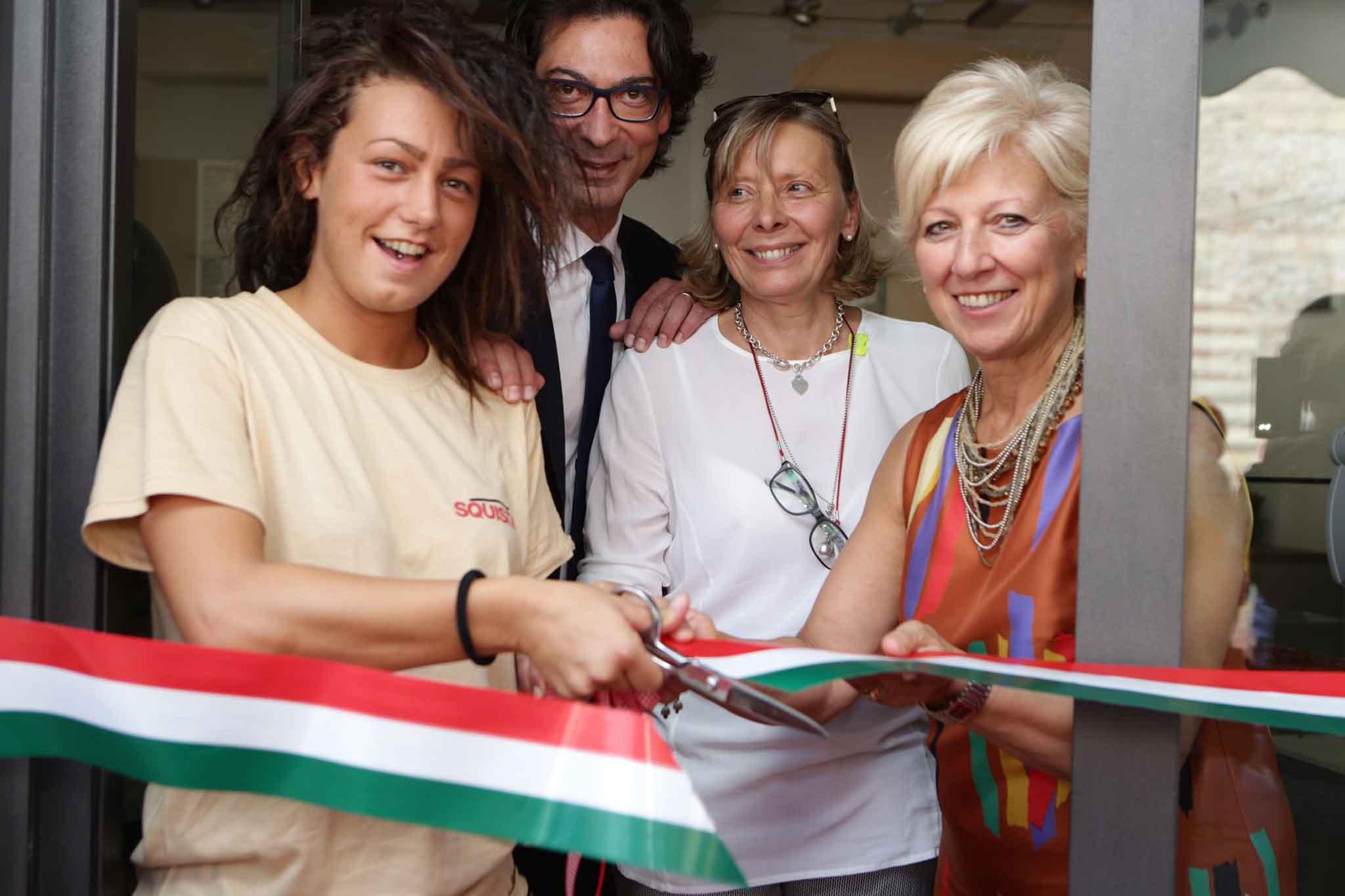 Verona inaugurazione pizzeria Squisito
