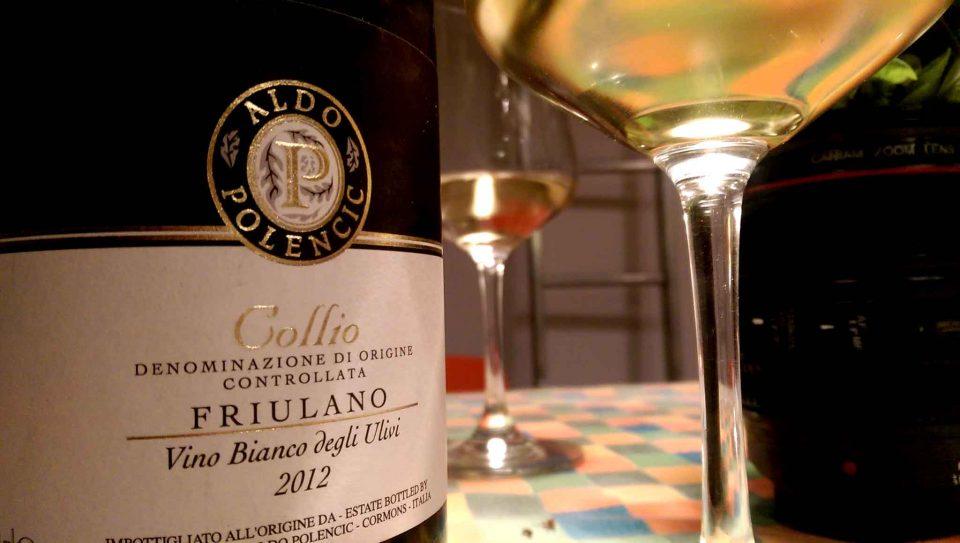 aldo polencic collio friulano vino bianco