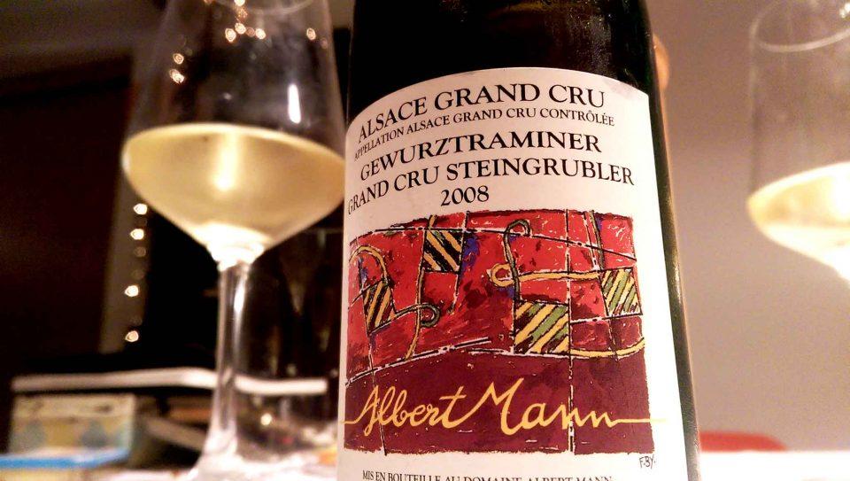 gewurtz traminer alsazia 2008 albert mann vino bianco