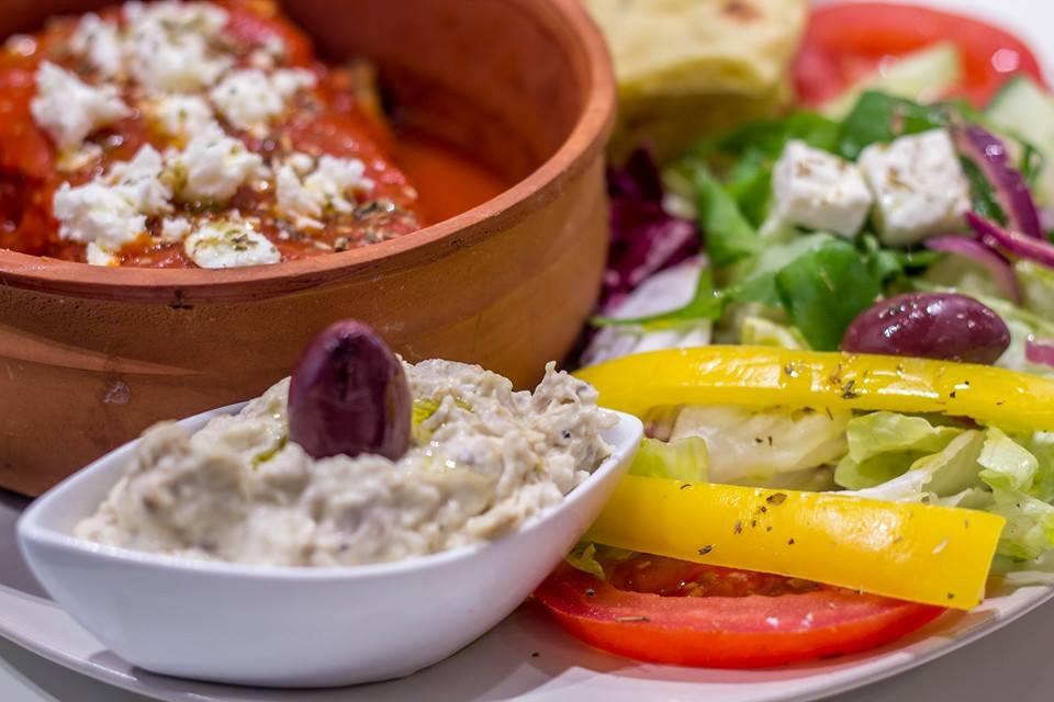moussaka Itaka Greek Food Milano