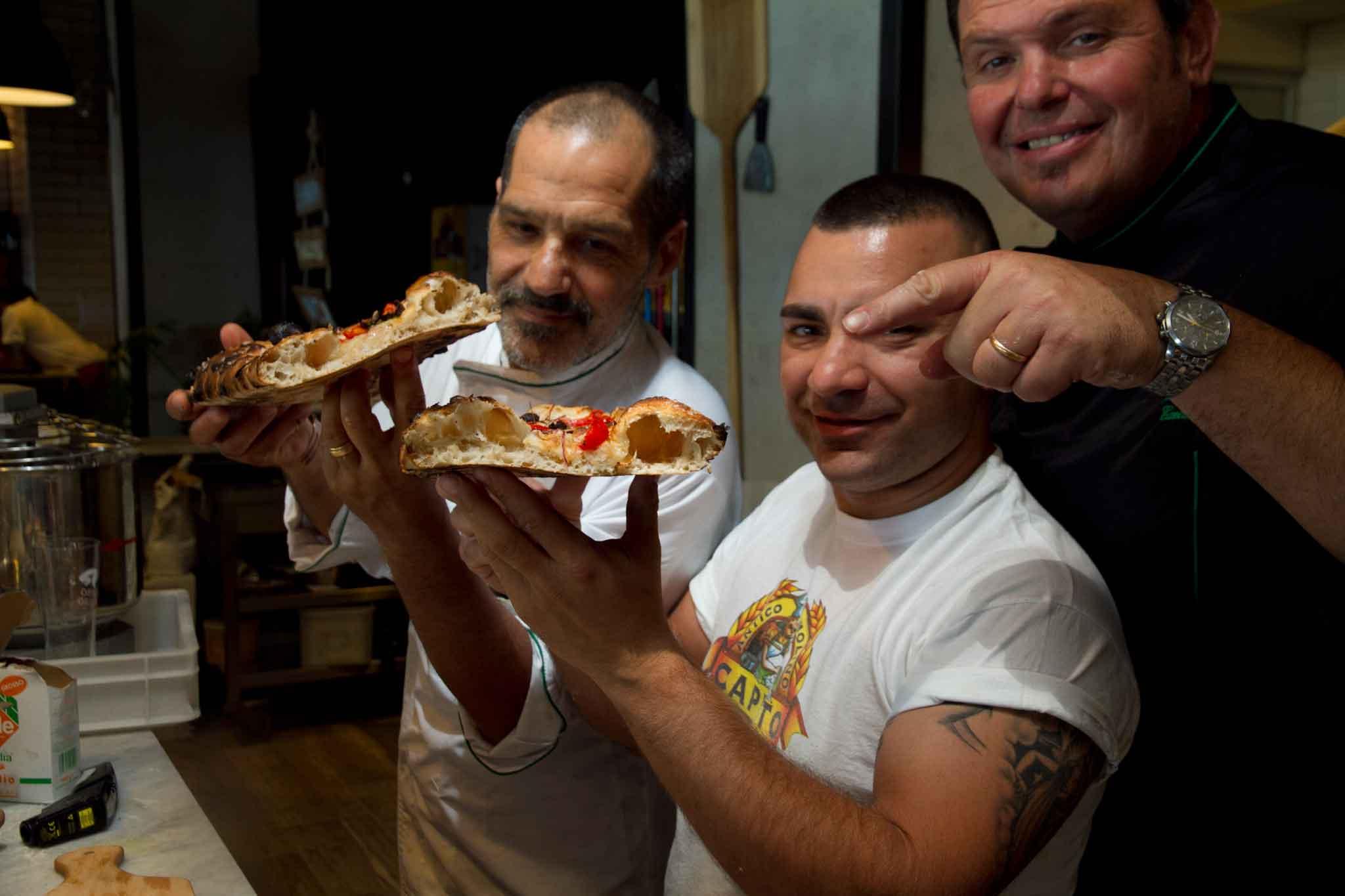 nuove pizze Rossopomodoro De Angelis Civitiello Sorrentino
