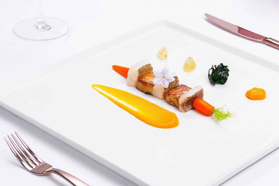 pezzogna e foie gras Indaco