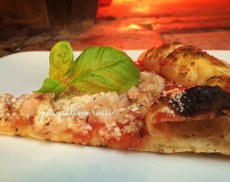 pizza amatriciana Pasqualino Rossi