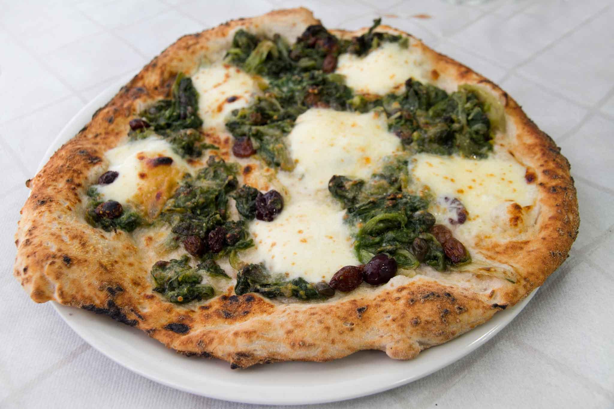 pizza integrale Teresa Iorio