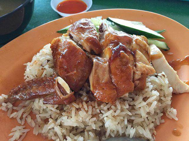 riso pollo soia stella michelin singapore