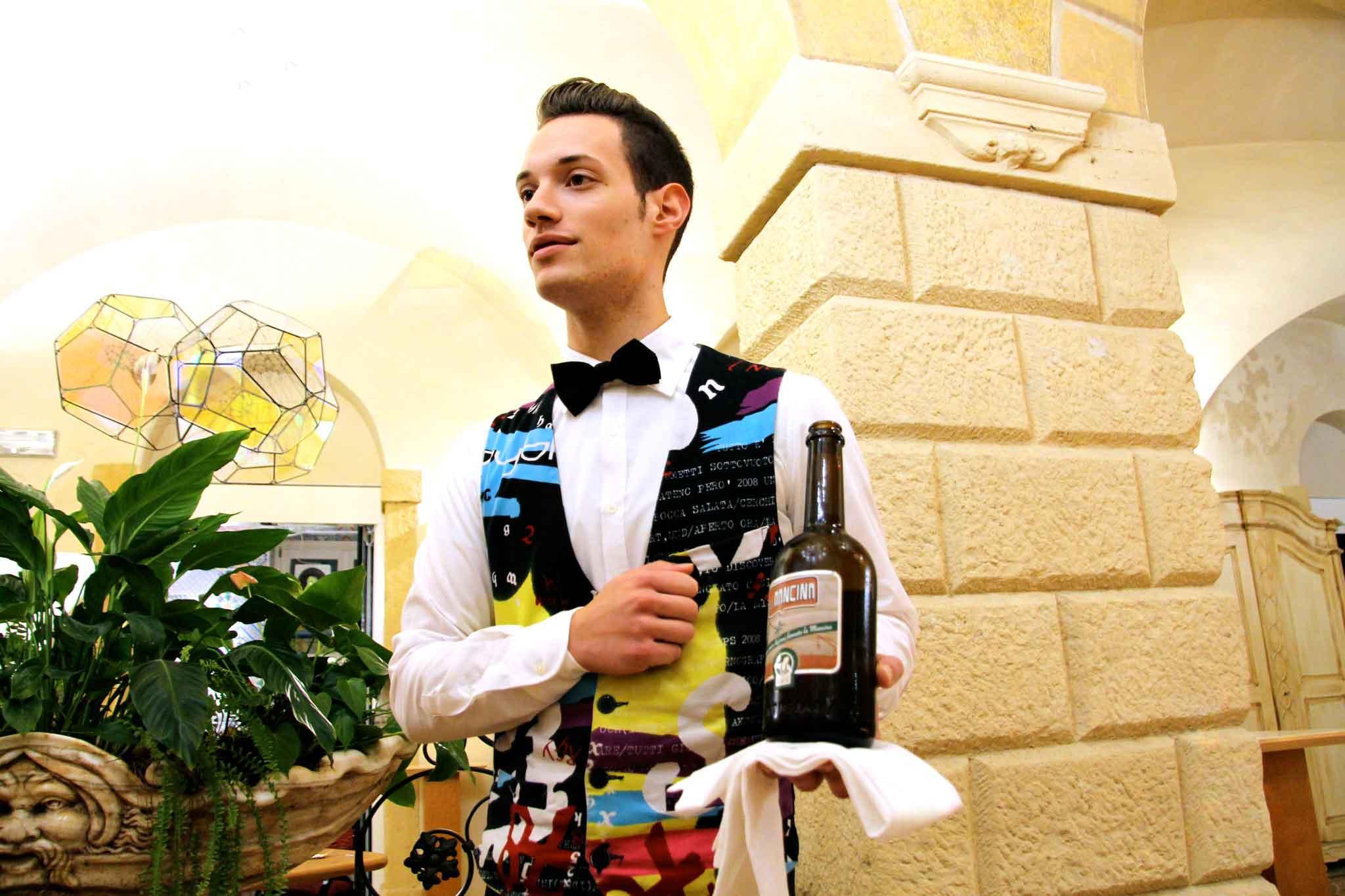 servizio birra Mancina birrificio Forte