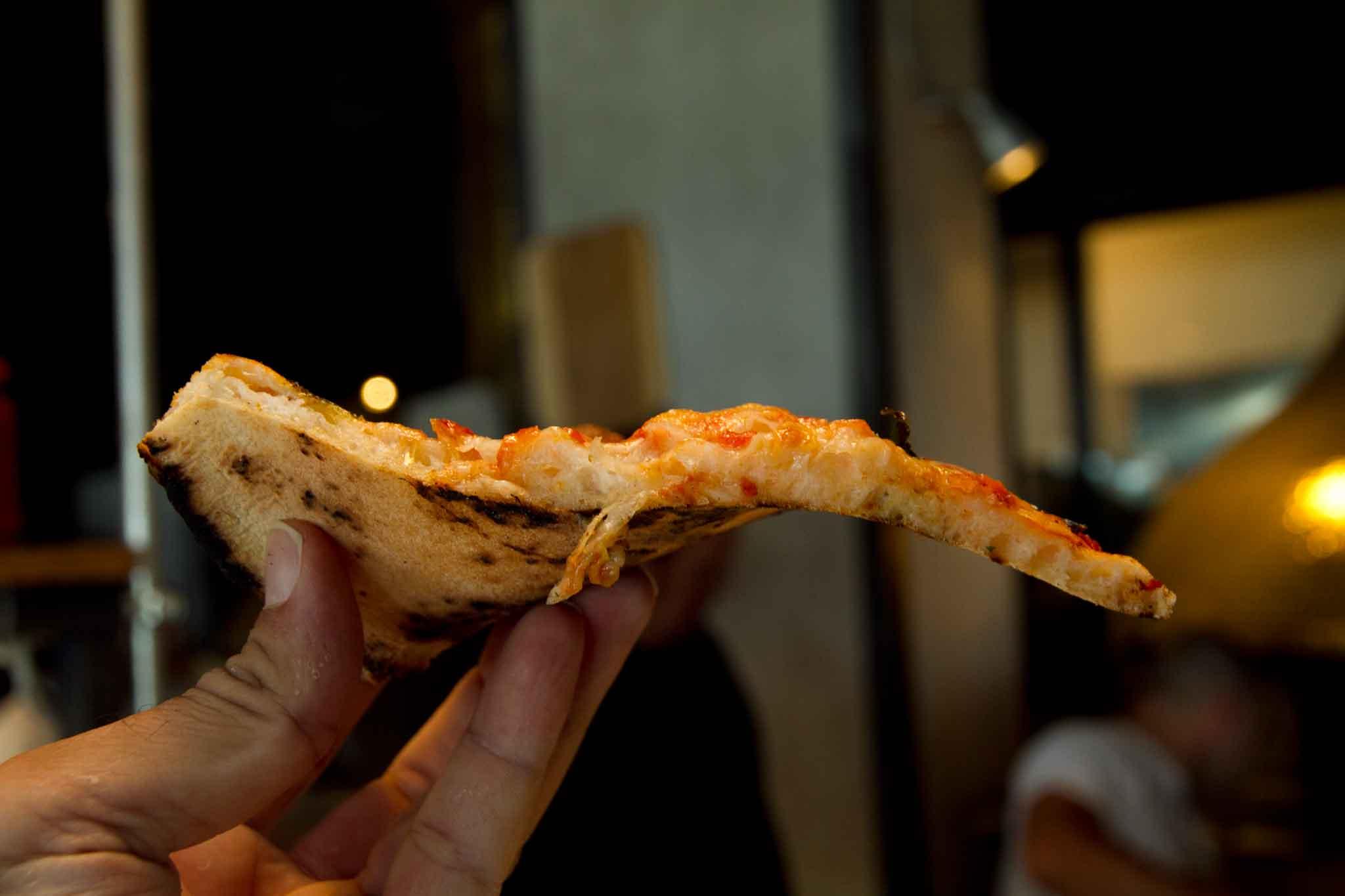 slice pizza new Rossopomodoro