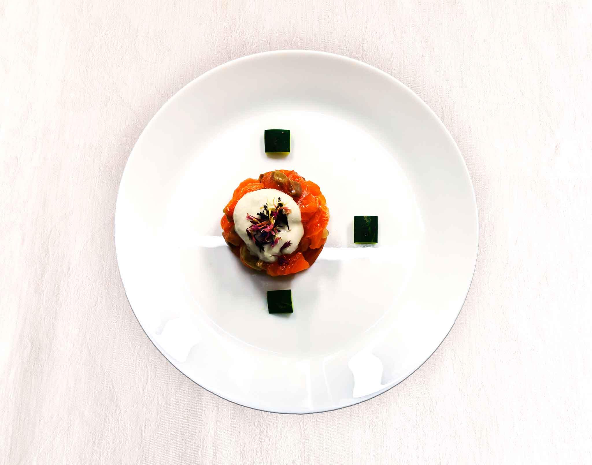 tartare di salmone mangio