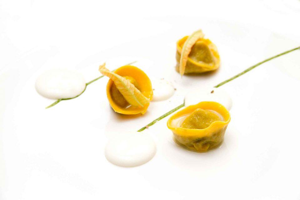 tortelli Nerano pasta Don Geppi