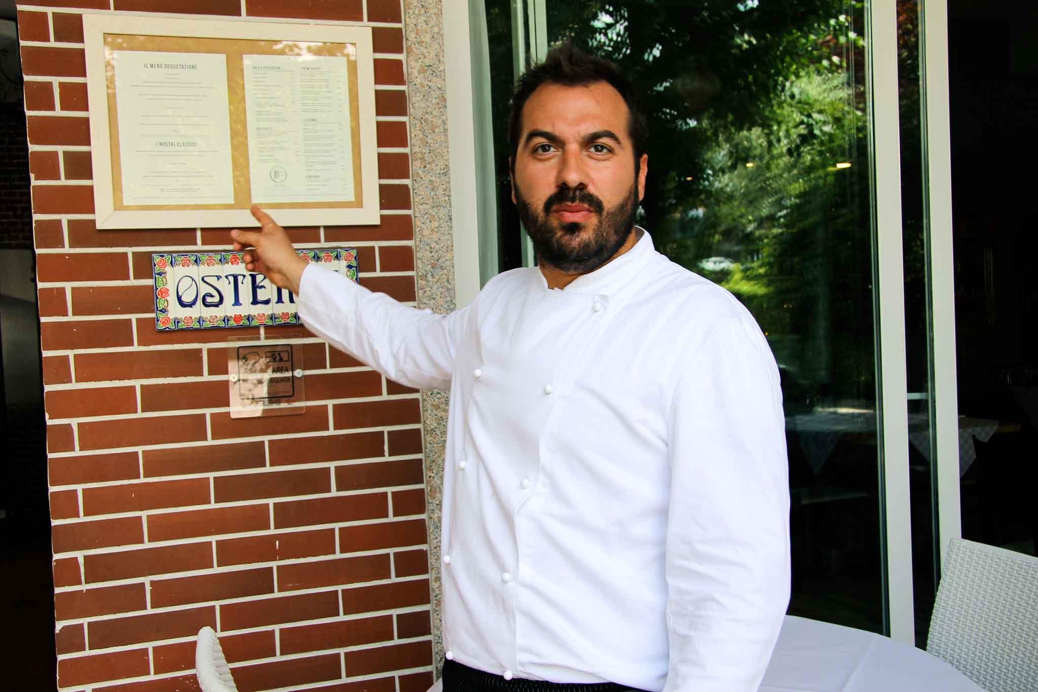 trattoria bella italia chef