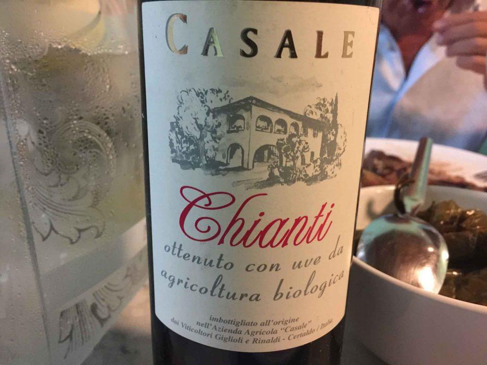 vino Chianti biologico
