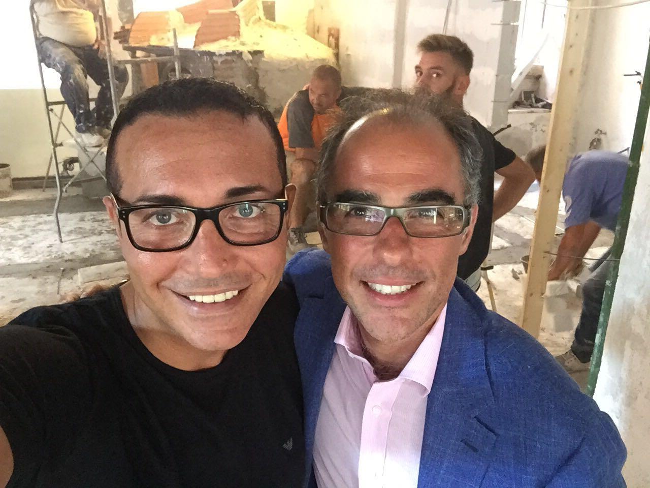 Gino Sorbillo e Antimo Caputo
