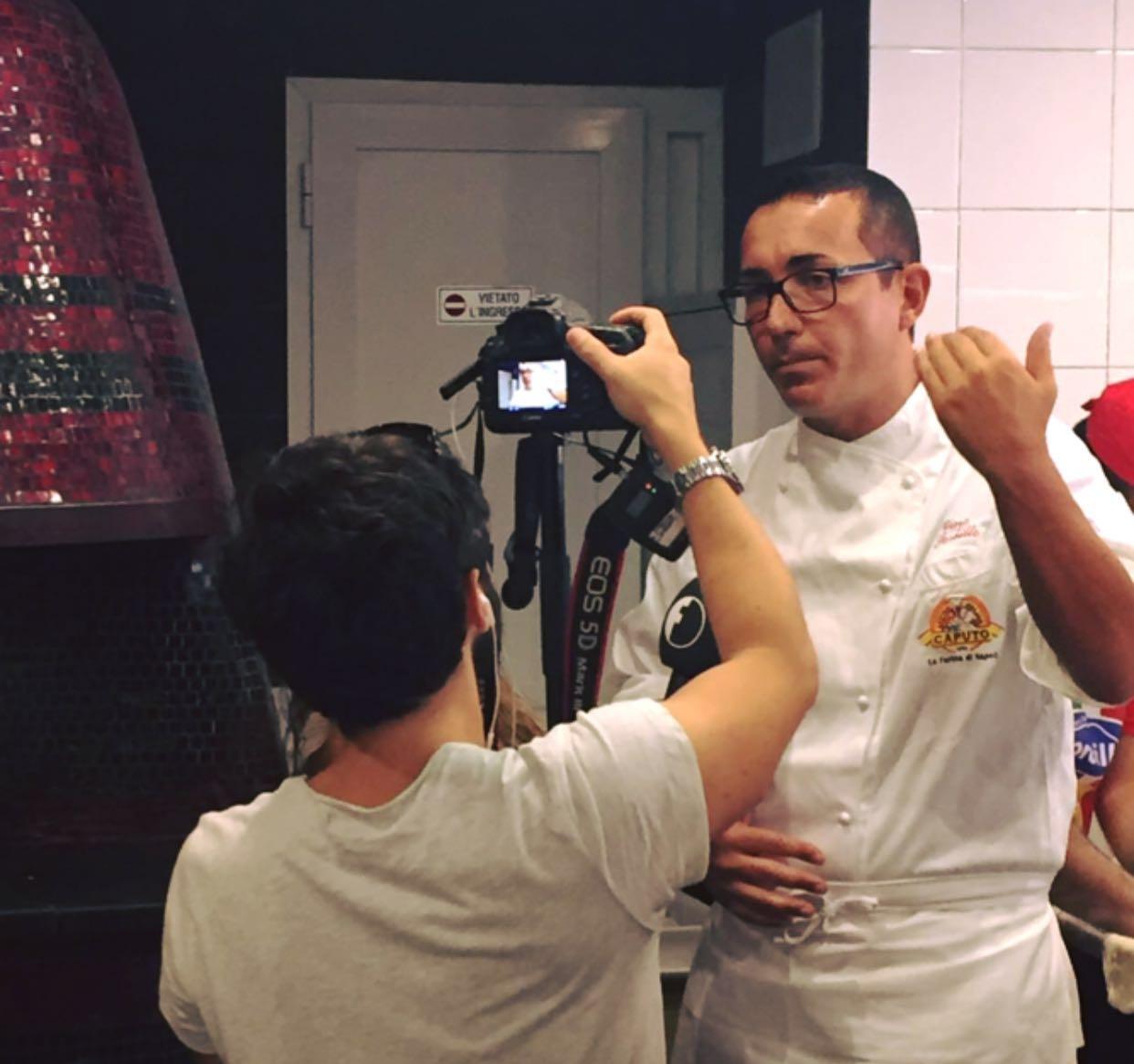 Gino Sorbillo pizzaiolo intervista NPV 2016