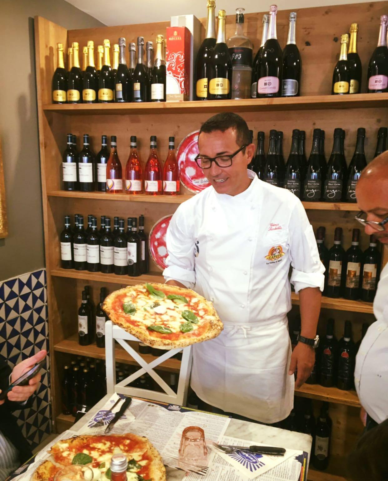 Napoli Pizza Village 2016 presentazione Sorbillo Milano 3