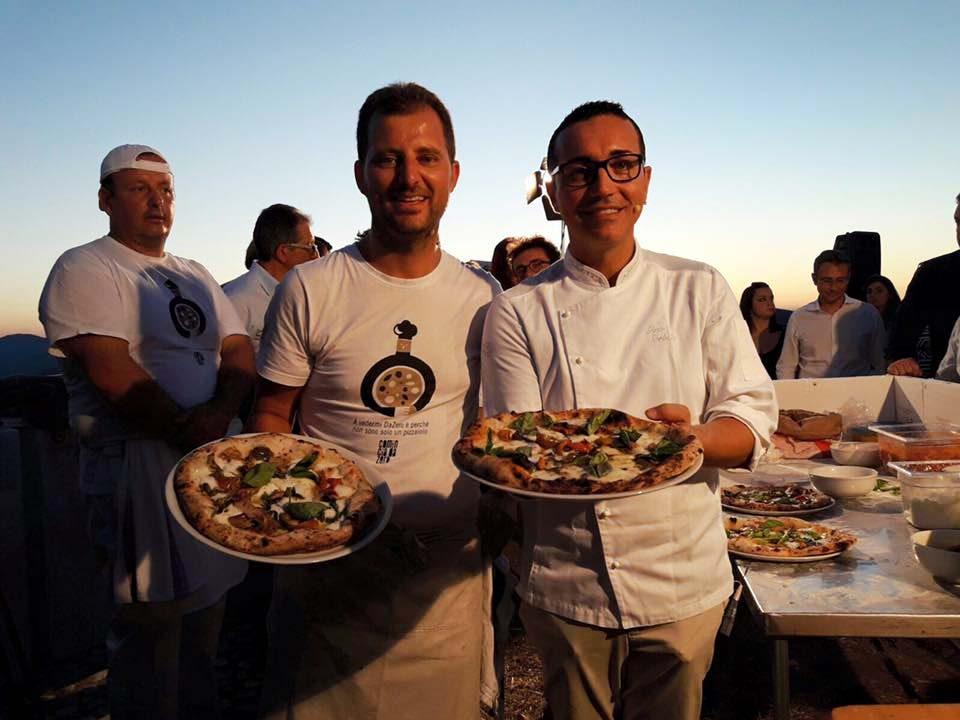 Paolo De Simone e Gino Sorbillo