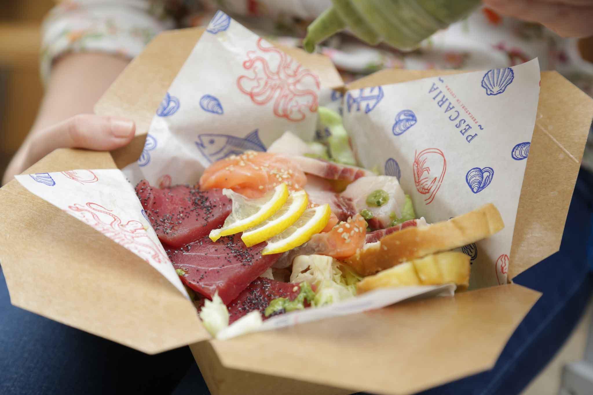 Pescaria Tris sashimi