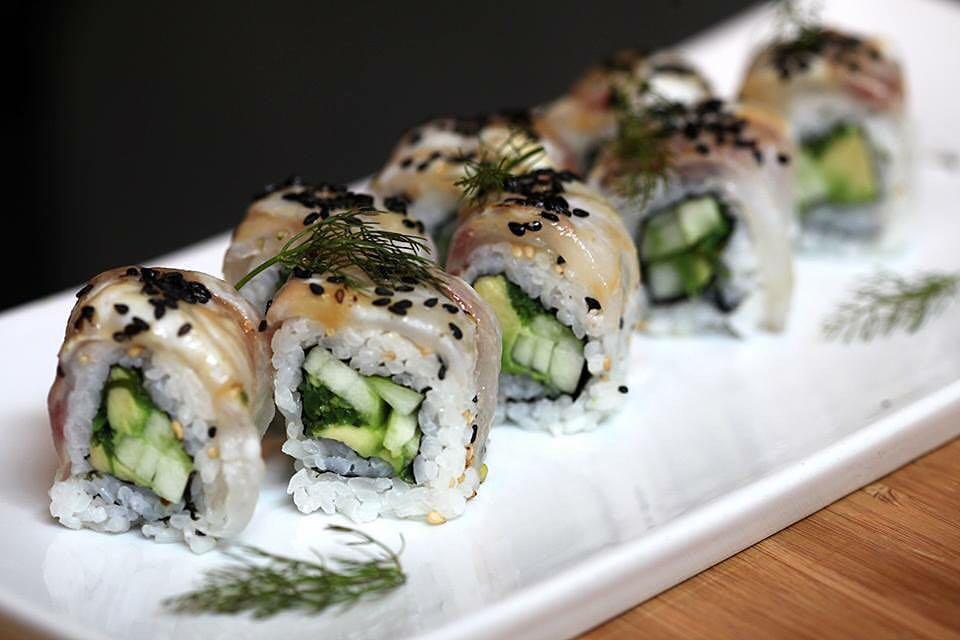 bento milano sushi rolls