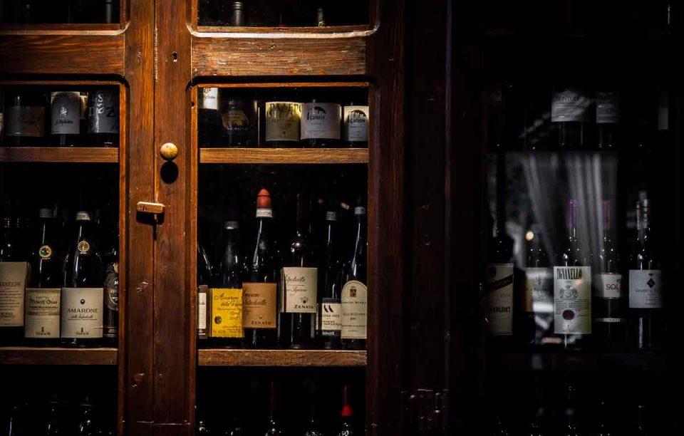 bottega del vino bottiglie