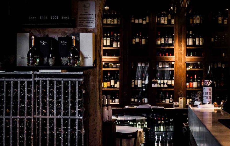 bottega del vino interno