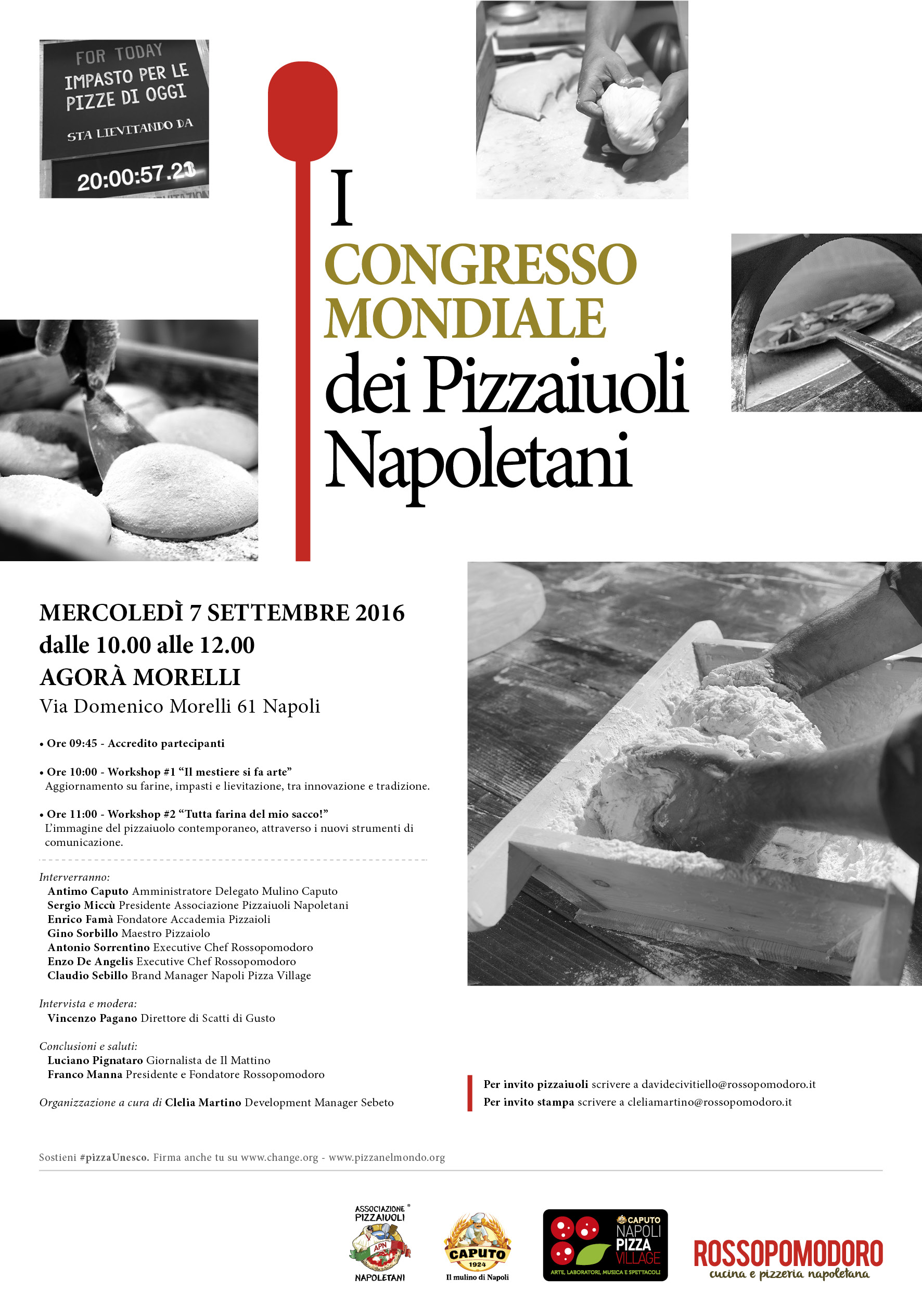 congresso mondiale pizzaioli Napoli 2016