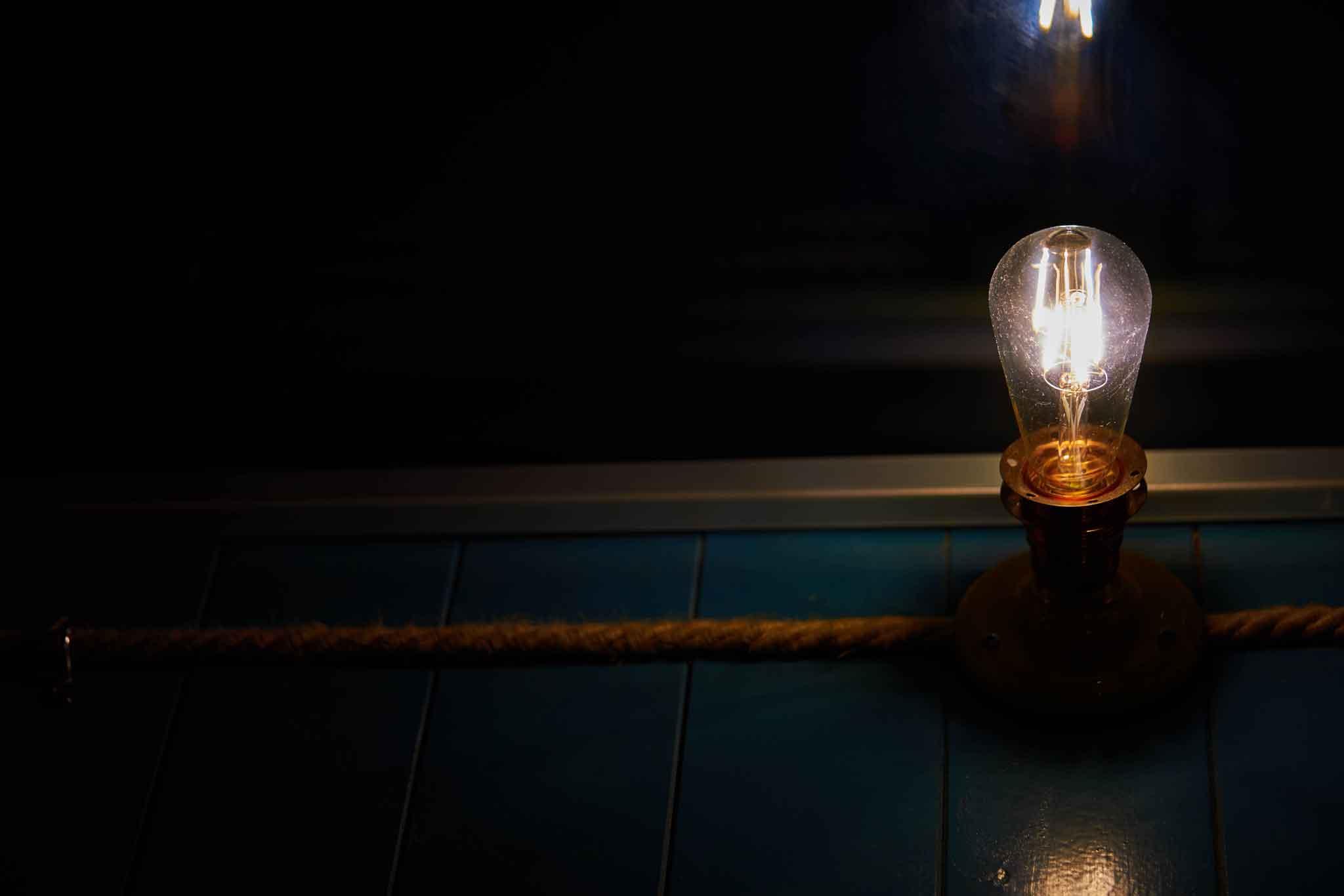 lampadina il Tino ristorante Fiumicino