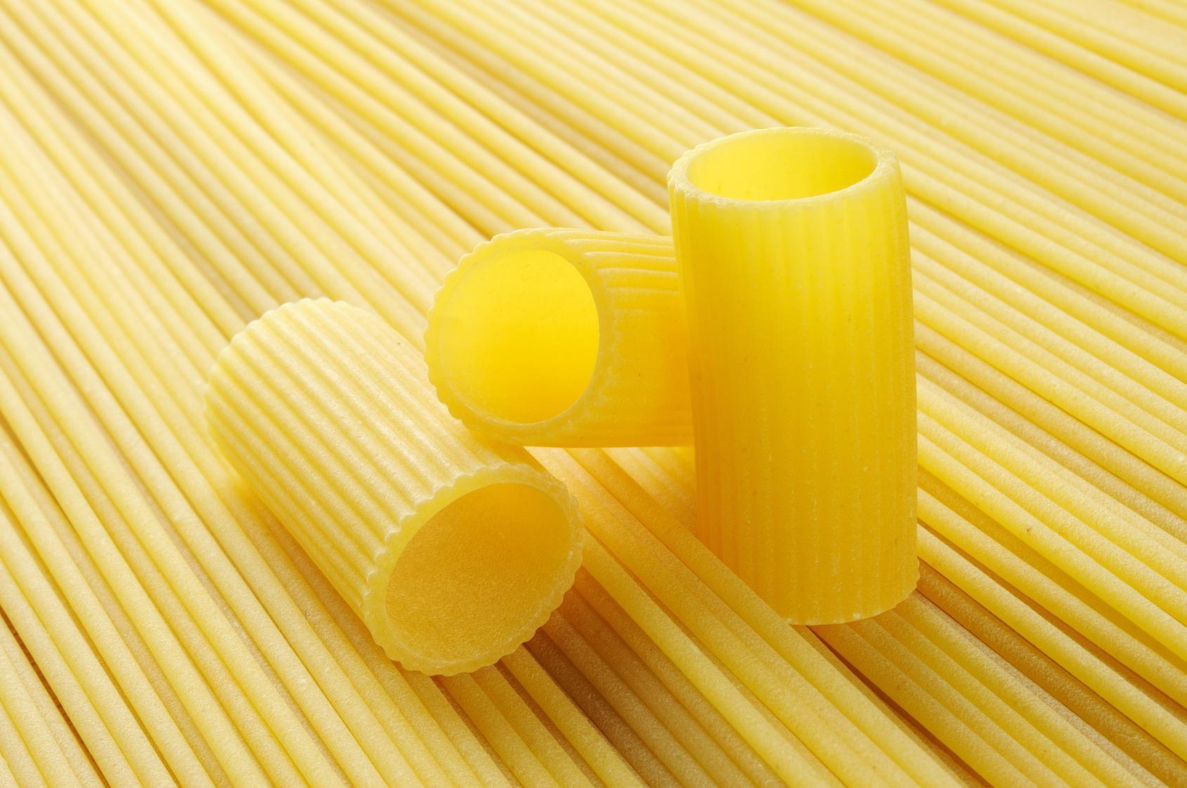 Rigatoni e spaghetti di Gragnano