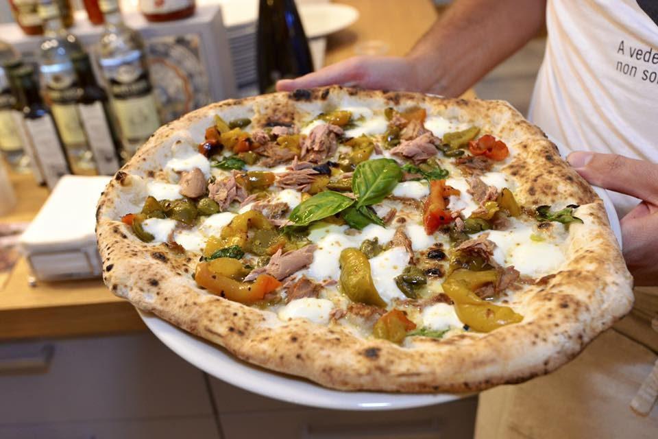 pizza Cilento Vesuvio Da Zero