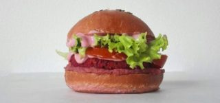 Hamburger vegani. Flower Burger inaugura a Roma con Marco Bianchi