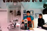 La vera bresaola affumicata la trovate alla macelleria Panatti a Chiavenna