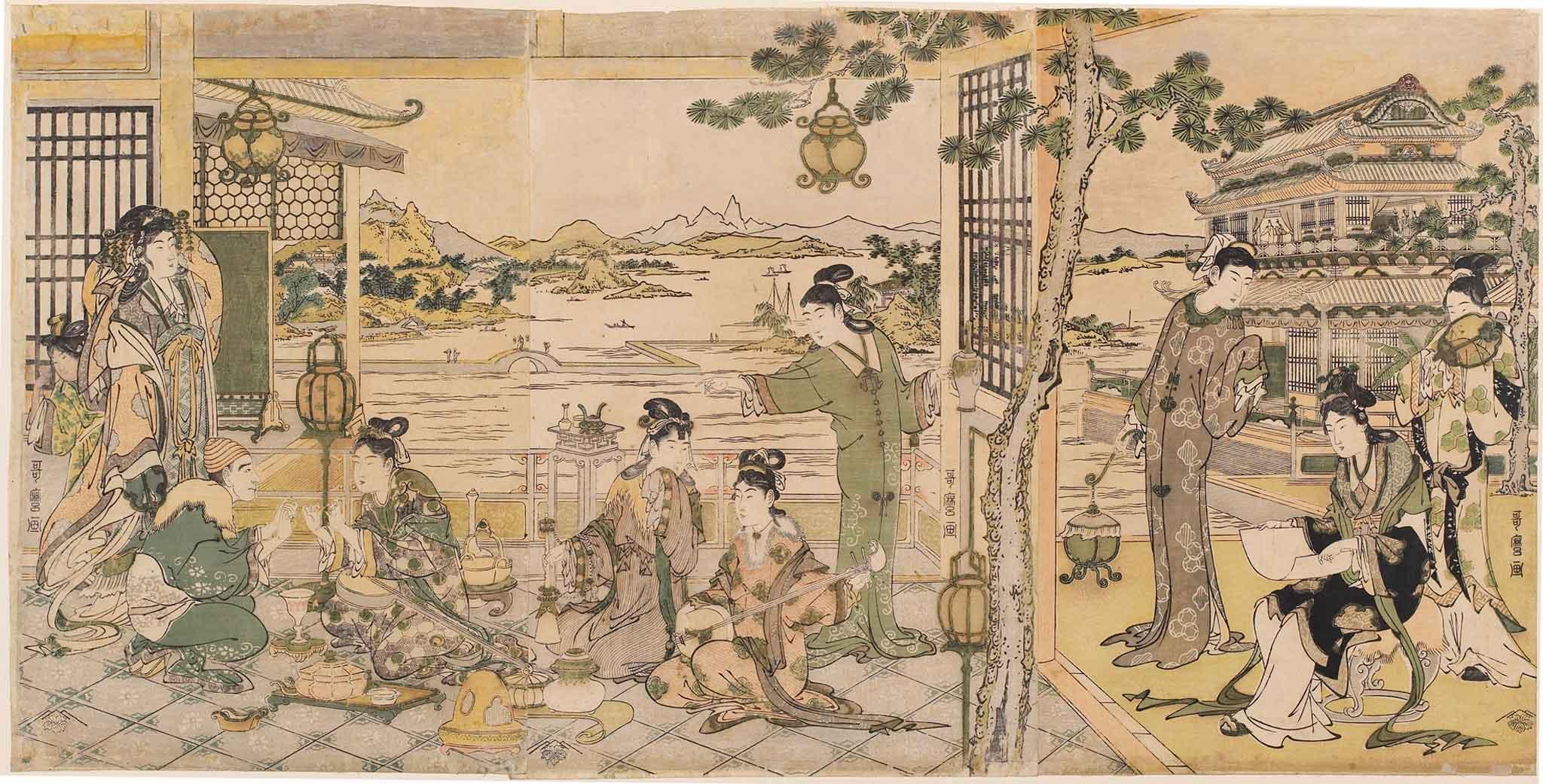 hokusai-24-banchetto