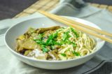 Ricetta. Funghi porcini e spaghetti di soba per un primo piatto vegan