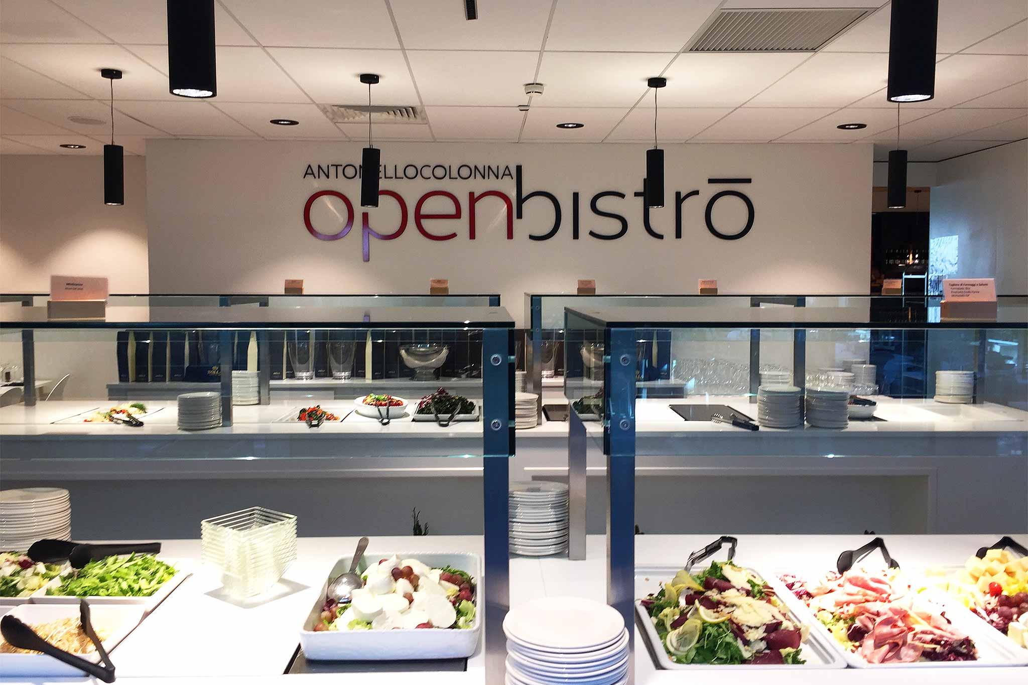 All You Can Eat a 18 € per Antonello Colonna all\'aeroporto ...