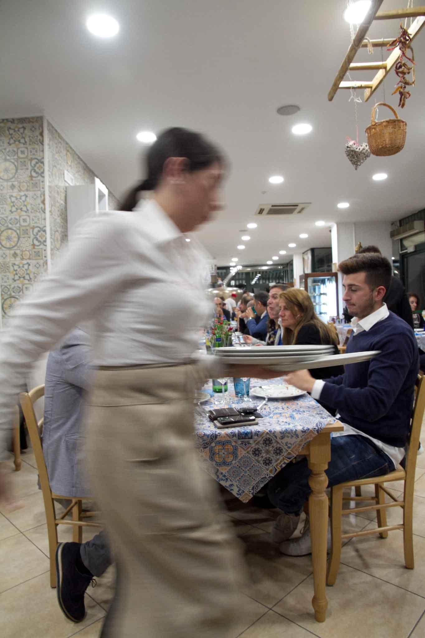 servizio preconto ristorante
