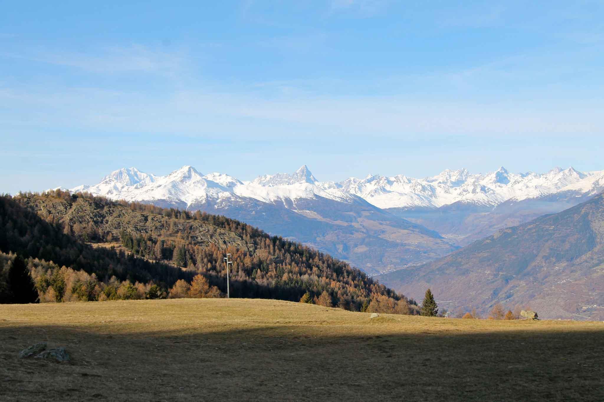 Monte Bianco e Cervino